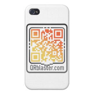 Productos de QRBlaster QRCode iPhone 4 Protectores
