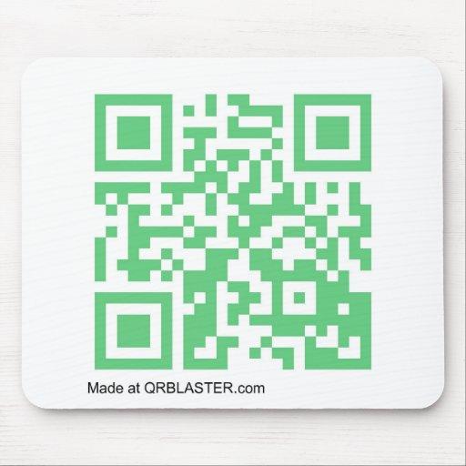 Productos de QRBlaster QRCode Alfombrillas De Ratones