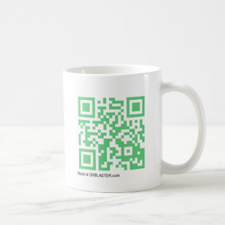 Productos de QRBlaster QRCode Tazas De Café