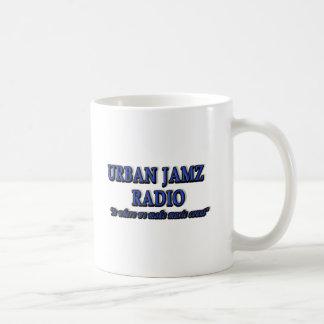 PRODUCTOS DE RADIO URBANOS DE JAMZ TAZA BÁSICA BLANCA