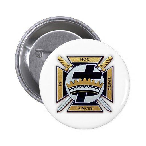Productos de Templar de los caballeros Pin Redondo 5 Cm