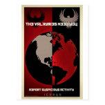 Productos de trabajo de la película del título de  tarjeta postal