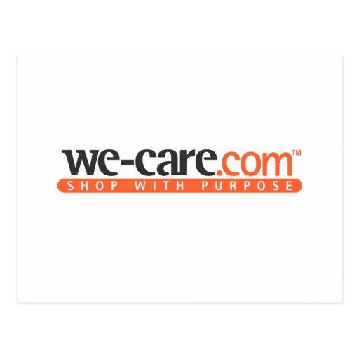 productos de We-Care.com Tarjeta Postal