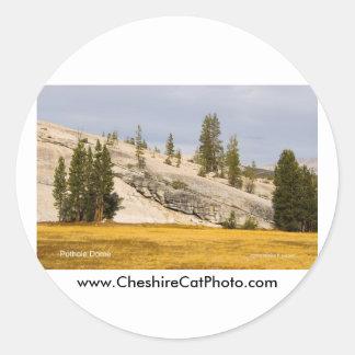 Productos de Yosemite California de la bóveda del Pegatina Redonda
