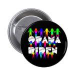 Productos de Zazzle del diseño de Obama Biden Pins