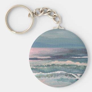 Productos del arte de las olas oceánicas de Cricke Llavero