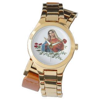 Productos del arte de Maria de la madre Relojes De Pulsera