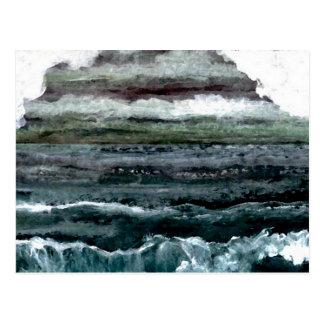 Productos del arte del mar magnífico - océano de tarjeta postal