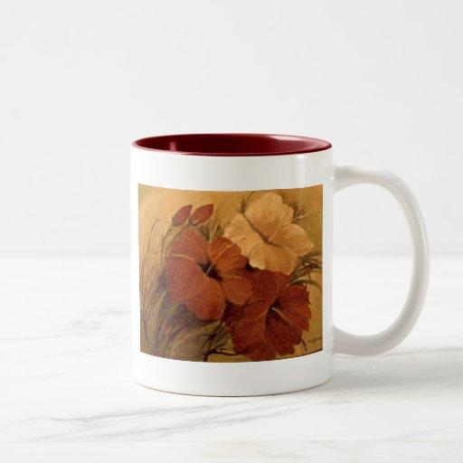 productos del arte taza de dos tonos