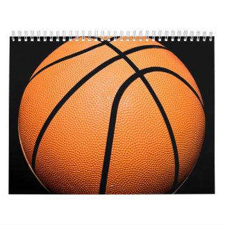 Productos del baloncesto calendarios de pared