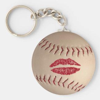Productos del béisbol llavero redondo tipo pin