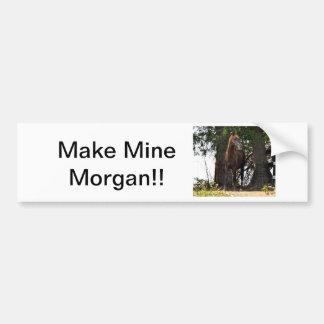 ¡Productos del caballo de Morgan!! Pegatina Para Auto