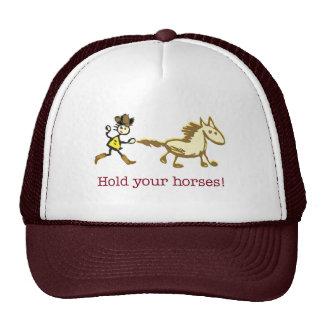 Productos del caballo gorras