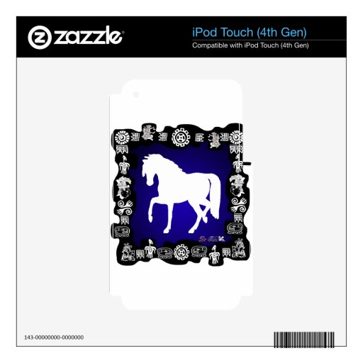 PRODUCTOS DEL CABALLO iPod TOUCH 4G SKINS