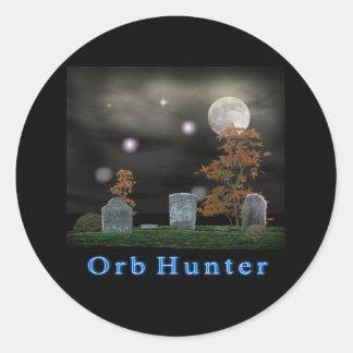 productos del cazador del fantasma pegatina redonda