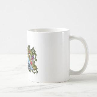 Productos del chica de Haleiwa Taza Básica Blanca