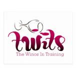 Productos del club del vino de los TWITs Tarjetas Postales