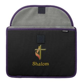 Productos del cristiano de Shalom Fundas Para Macbook Pro