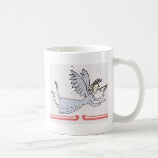 Productos del cuerno del ángel que soplan taza