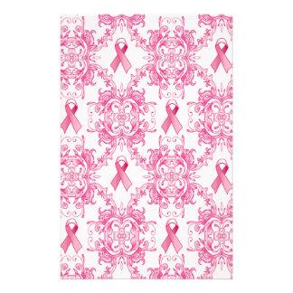 Productos del damasco de la cinta del cáncer de pe papelería personalizada