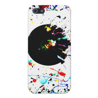 Productos del desplome del vinilo iPhone 5 cárcasa