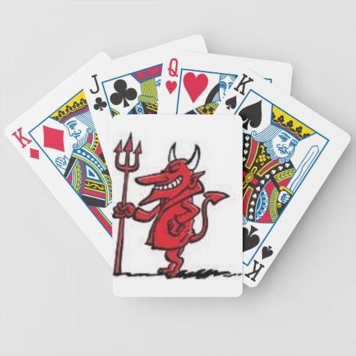 Productos del diablo cartas de juego