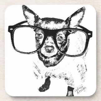 Productos del dibujo del ejemplo del perro de la c posavasos de bebida