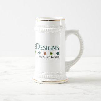 Productos del diseño de Pepperdoodle Jarra De Cerveza