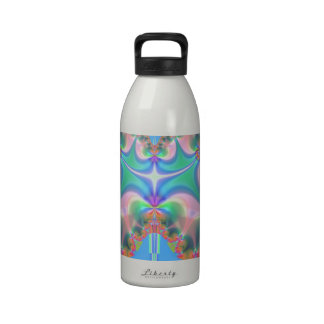 Productos del diseño del fractal botella de agua reutilizable