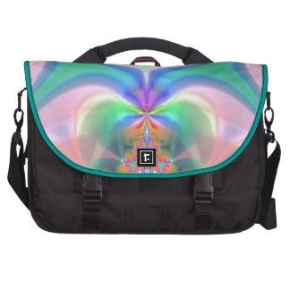 Productos del diseño del fractal bolsas de ordenador