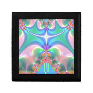 Productos del diseño del fractal caja de regalo