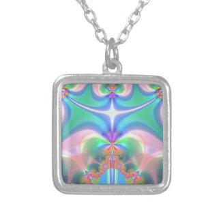 Productos del diseño del fractal collares personalizados