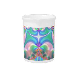 Productos del diseño del fractal jarras