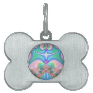 Productos del diseño del fractal placa de mascota