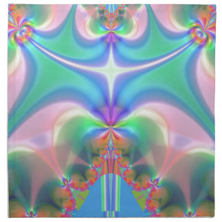 Productos del diseño del fractal servilleta