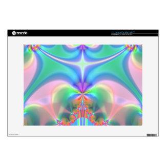 Productos del diseño del fractal portátil calcomanía
