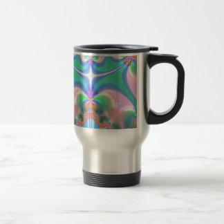 Productos del diseño del fractal taza de café