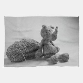 Productos del diseño del rinoceronte toallas de mano