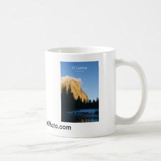 Productos del EL Capitan (invierno) Yosemite Calif Taza De Café