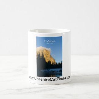 Productos del EL Capitan (invierno) Yosemite Calif Tazas