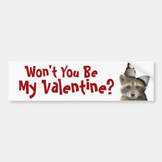 Productos del el día de San Valentín de la estafa  Pegatina Para Auto