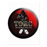 PRODUCTOS DEL ESTILO DEL LOGOTIPO DE TORC TARJETAS POSTALES