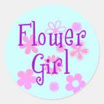Productos del florista etiquetas