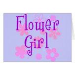 Productos del florista tarjetas