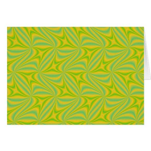 Productos del fractal tarjeta de felicitación