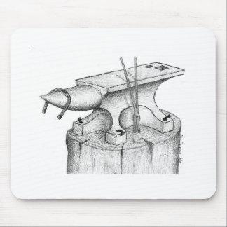 Productos del herrero y del herrador tapetes de ratones