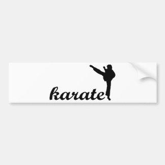 ¡Productos del karate! Pegatina Para Auto