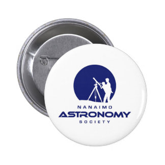 Productos del logotipo de la astronomía de Nanaimo Pin Redondo 5 Cm