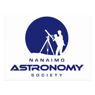 Productos del logotipo de la astronomía de Nanaimo Tarjetas Postales