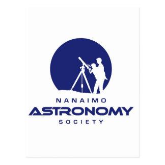 Productos del logotipo de la astronomía de Nanaimo Postal